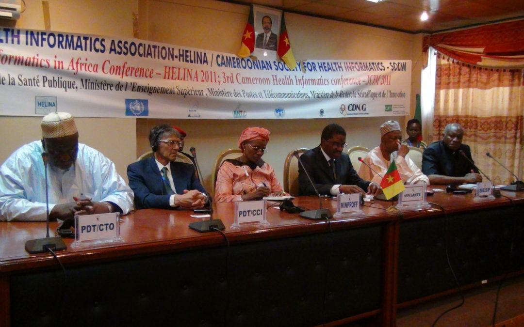 Conference in Yaoundé 2011-28-11