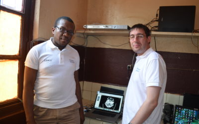 Pictures of the training at the Adlucem Hospital of Bandjoun