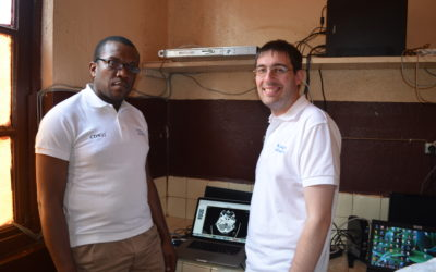 Visit of the project partner SOCIM in Bandjoun